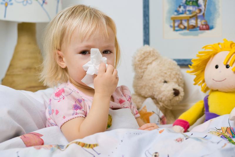 У ребенка температура когда можно вести в сад