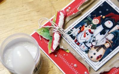 26709829b363c736b3f25c957ee468413ff99e46 Новогодние открытки своими руками: 23 идеи для вдохновения || 7 идей для новогодних открыток