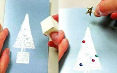 5200cdea1f7c5d3378b76011225c742884f8e294 Новогодние открытки своими руками: 23 идеи для вдохновения || 7 идей для новогодних открыток