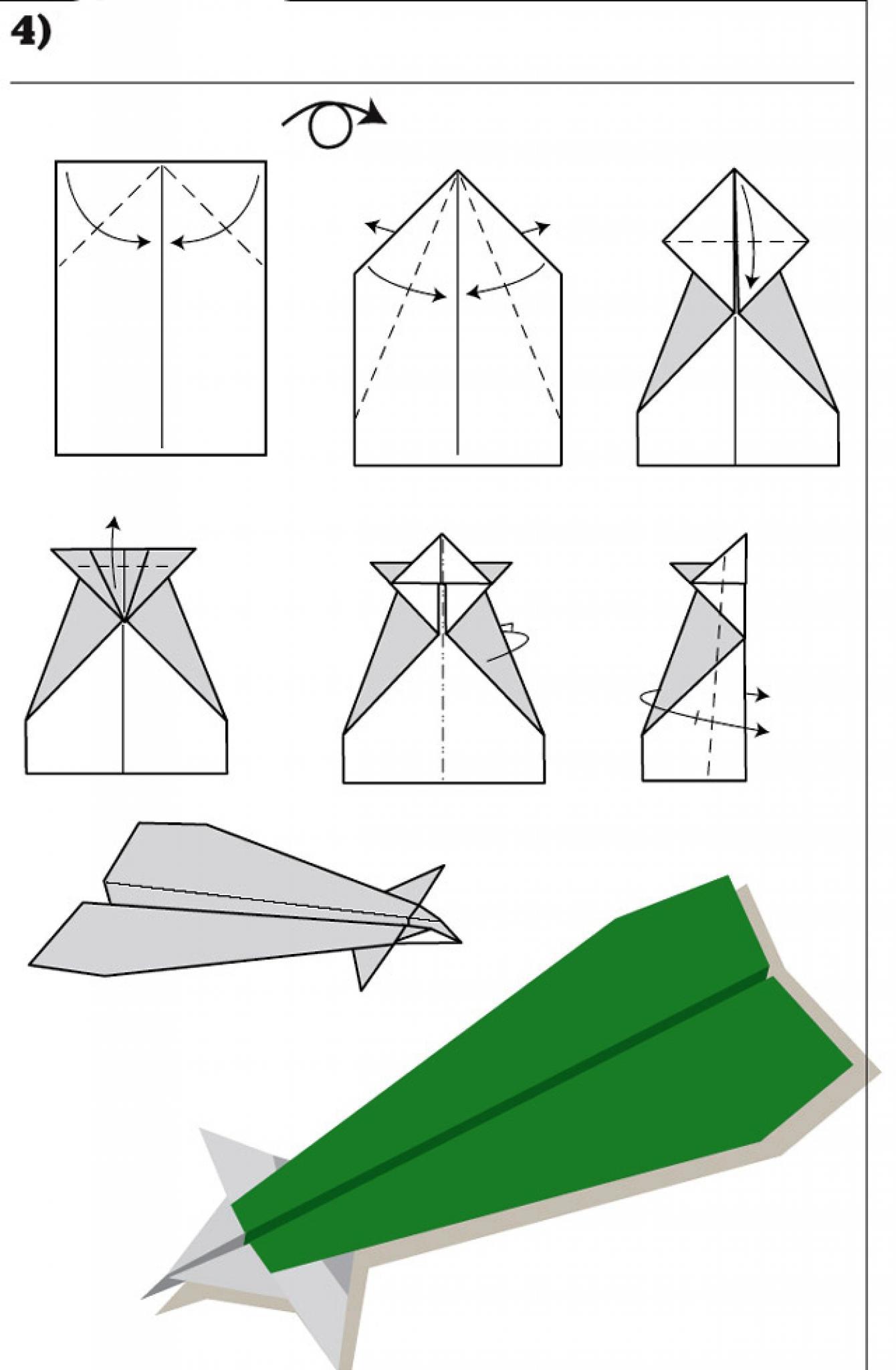 Как сделать самолет из бумаги? 13 схем складывания самолетиков своими 19