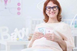 Беременность в 43 года отзывы