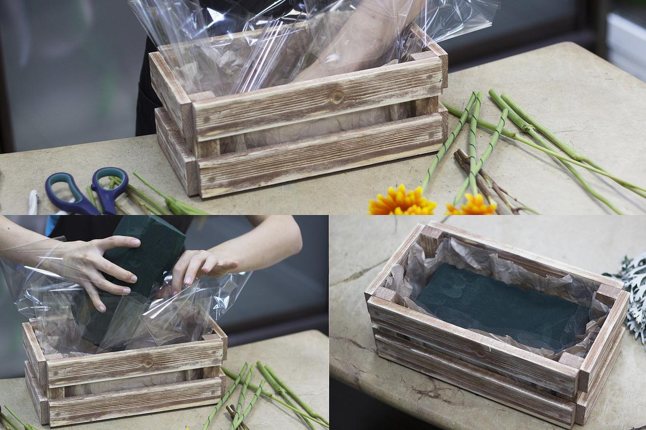 Деревянный ящик для цветов своими руками фото 38