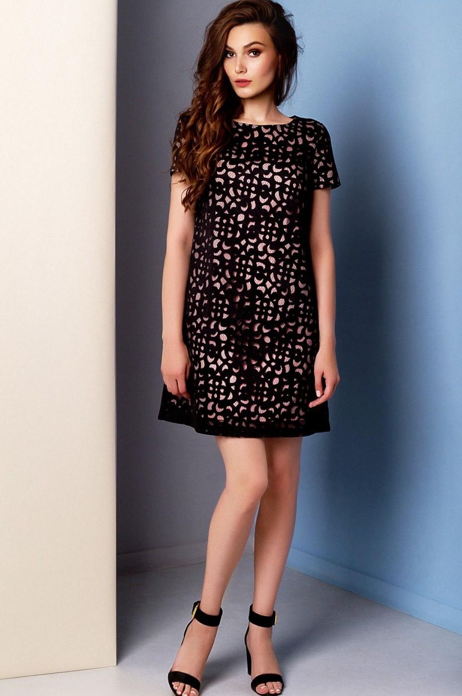 39d578a7a6d Это мини-платье А-силуэта отлично подойдет для вечеринки с танцами.  Поклонницы гороскопов