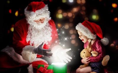 Дед Мороз и дети 45