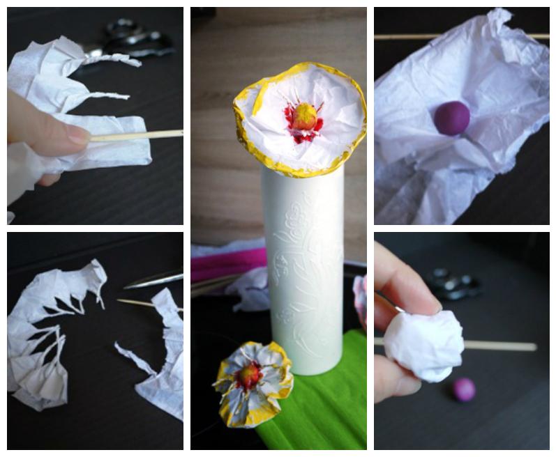 360Поделки из папиросной бумаги