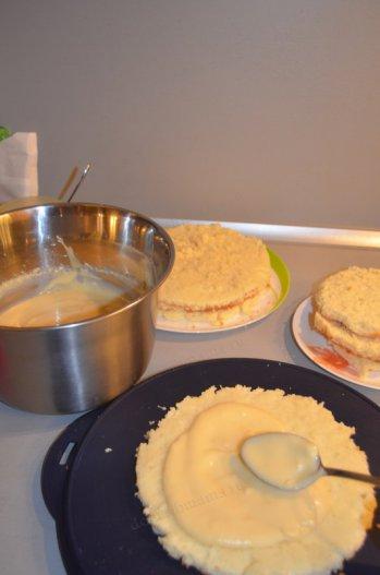 Суфле из заварного крема