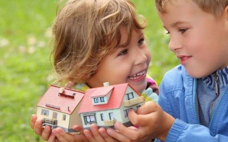 Как забрать долю ребенка в квартире