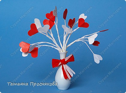 Валентинки на букет заек