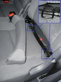 выбор крепления автокресла в автомобиле