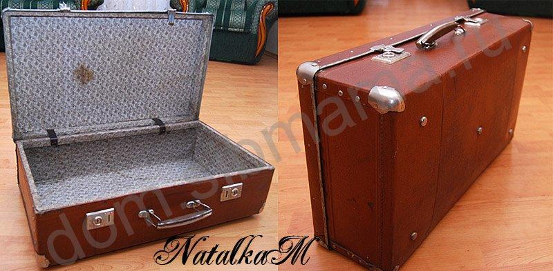 Старый чемодан мастер класс