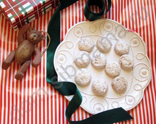 Kourabiedes. Печенье на свадьбу или крестины