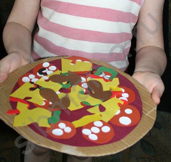 Игра пицца своими руками