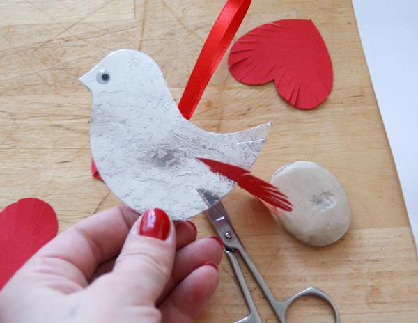 Птичка своими руками 8