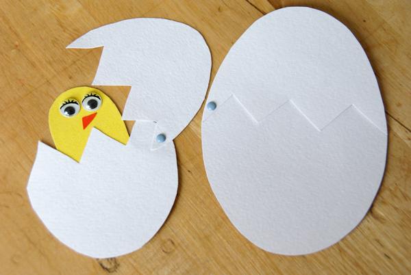 Как сделать яйцо из бумаги для цыплят - Xaxatalka.ru