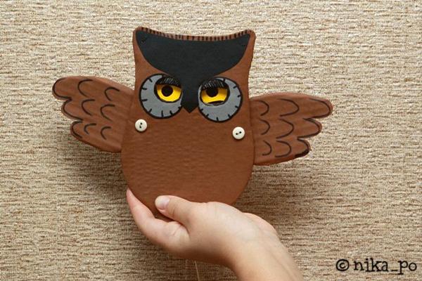 Как сделать игрушку сова своими руками