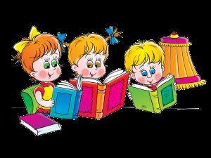 Ребенок с книгой рисунок