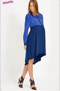 Платье со шлейфом Алевтина. Очаровательное платье макси-длины для беременных  ... 60a8b09648d