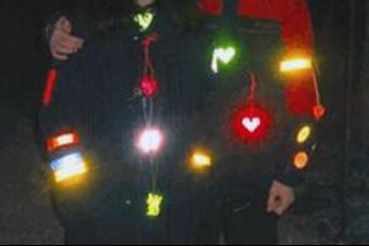 Светоотражающие элементы для пешеходов купить
