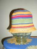 Детская шапочка связанная крючком