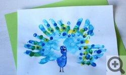 Аппликация из ладошек в детском саду
