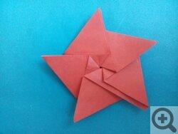 Звезда из бумаги своими руками