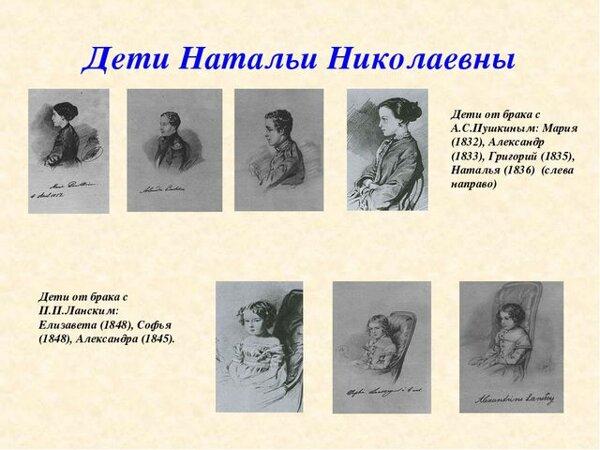 Мама Натали: какой мамой была Наталья Гончарова?