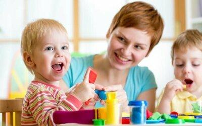 Адаптация детей на развивающих занятиях: